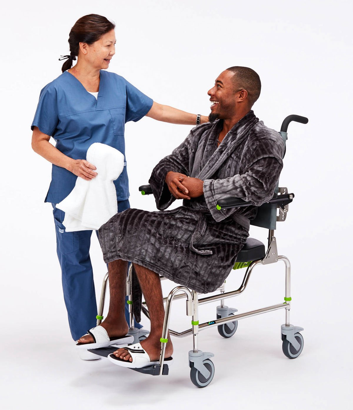 RAZ AP Shower Commode Chair