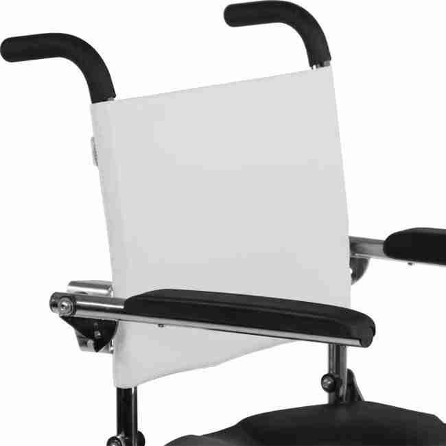 Adjustable Tension Vinyl Back Upholstery HD (Option) [Z753] | Mobile Shower  Commode Chairs | Raz Design Inc.