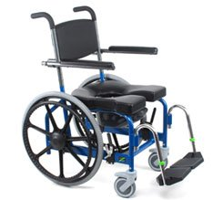 JAZ-SP Rehab Shower Commode Chair