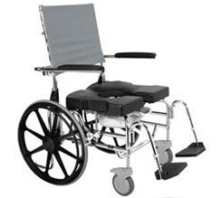 Raz-SP600 Rehab Shower Commode Chairs