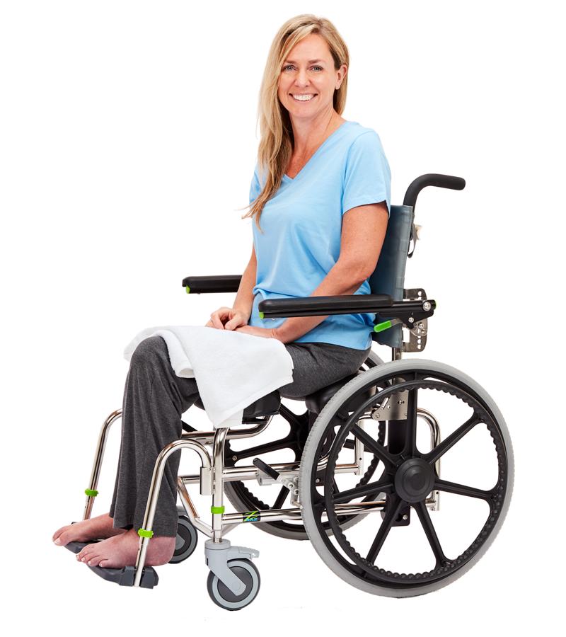 Raz Design Rehab Shower Commode Chair
