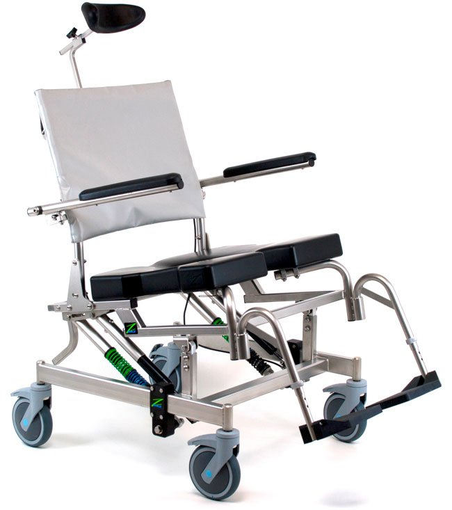 RAZ-AT600 Rehab Shower Commode Chair