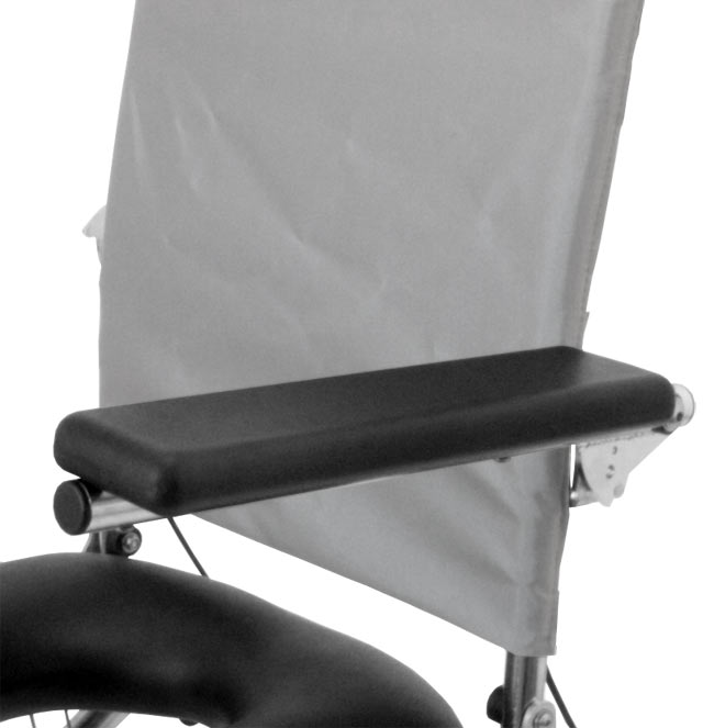 RAZ-AT Flat Armpad Rehab Shower Commode Chairs