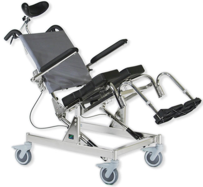RAZ-AT Rehab Shower Commode Chair