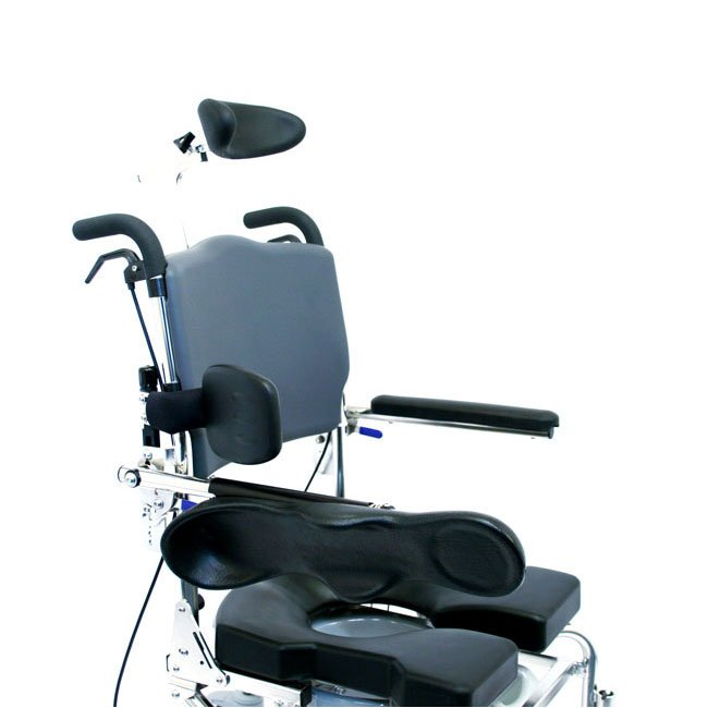 Shower Commode Chair Pivoting Arm Mount