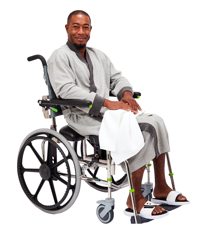 RAZ-SP Rehab Shower Commode Chair
