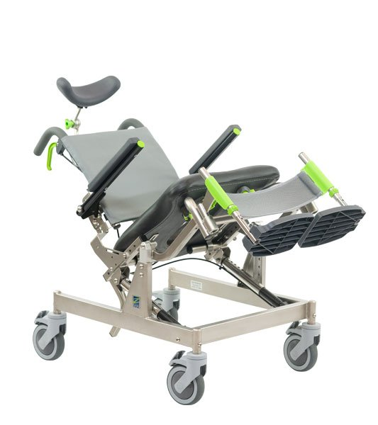 RAZ-CAT Compact Attendant Tilt Rehab Shower Commode Chair