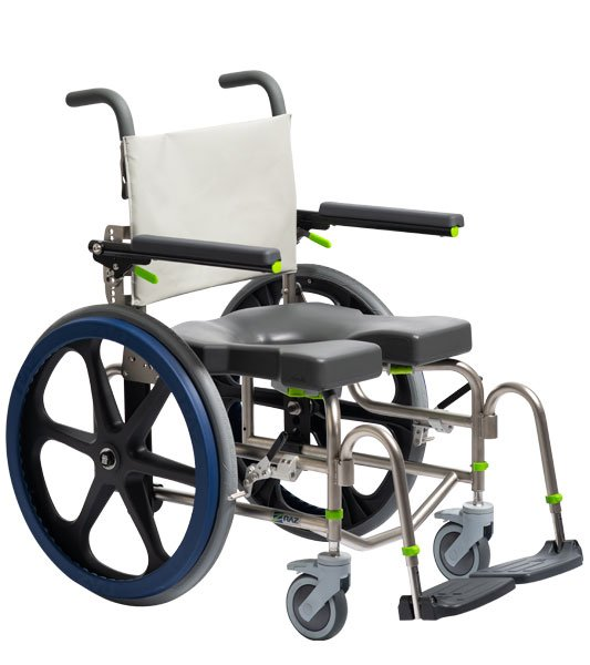 Self-Propel Raz-SP Mobile Shower Commode Chair