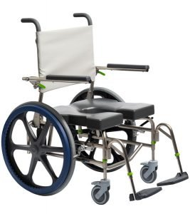 Raz-SP600 Self Propel – Bariatric Shower Commode Chair