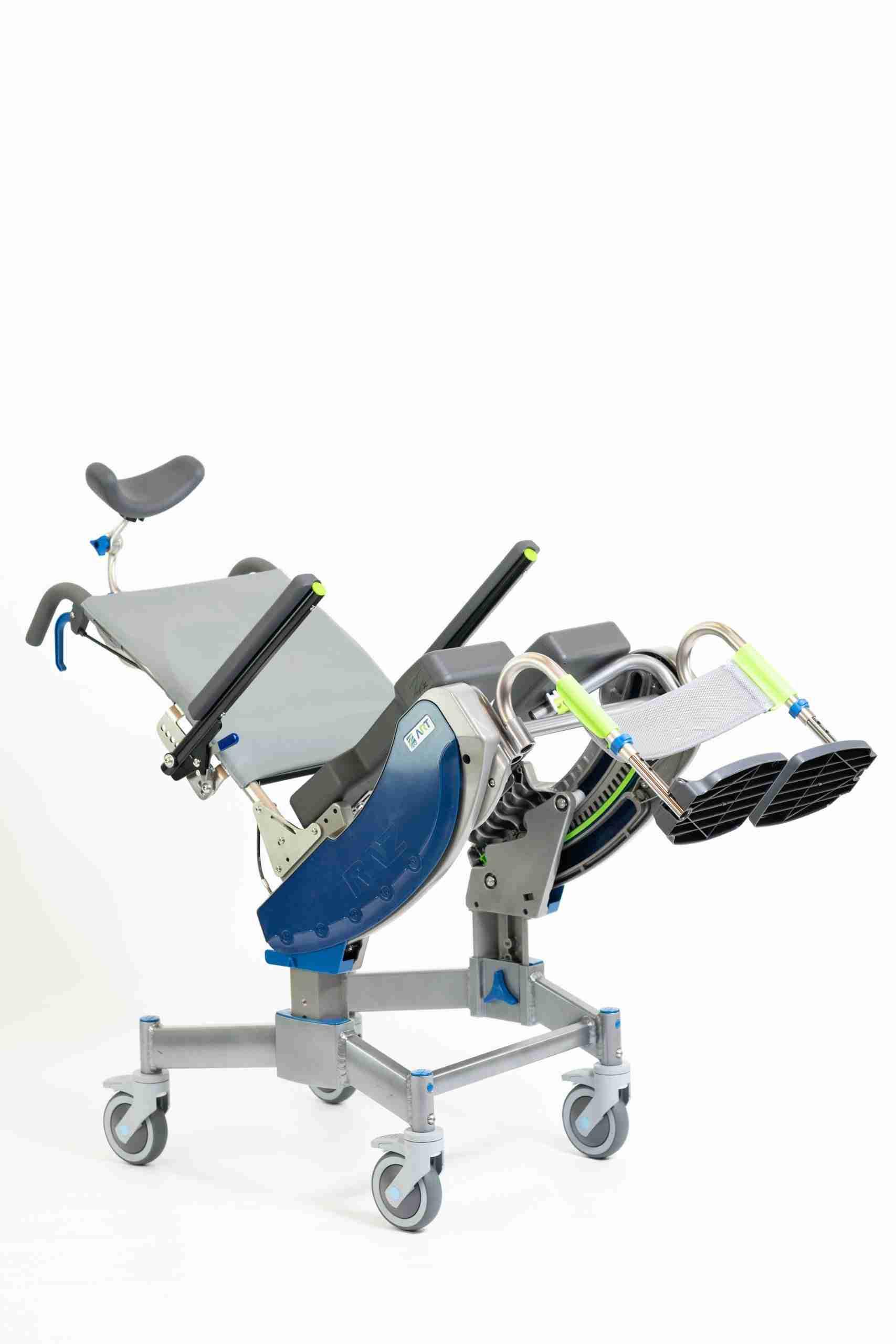 Raz-ART Mobile Shower Commode Chair